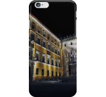 Piazza Salimbeni iPhone Case/Skin