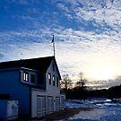 Boathouse at Sunset by Madison Jacox