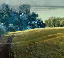 Long Shadows Parklands by David  Kennett