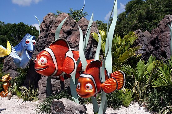 Nemo at Walt Disney World by searchlight