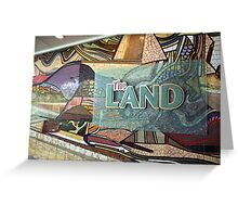 The Land, Walt Disney World, Epcot Center Greeting Card