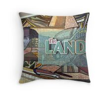 The Land, Walt Disney World, Epcot Center Throw Pillow