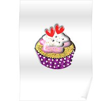Cute Little Cup Cake Poster