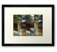River Song Framed Print