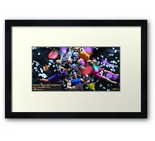 "Neuphonic Plague: ""Paper Scissors Rock"" Framed Print"