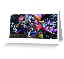 "Neuphonic Plague: ""Paper Scissors Rock"" Greeting Card"