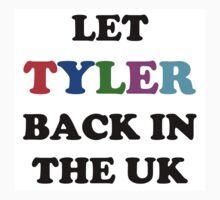Let Tyler Back in the UK - Tyler, the Creator Kids Tee