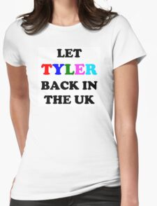 Let Tyler Back in the UK - Tyler, the Creator Womens Fitted T-Shirt