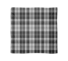 00593 Erskine Black & White Clan/Family Tartan Scarf