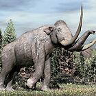 Columbian Mammoth (Mammuthus columbi) by Walter Colvin