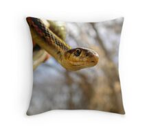 Early Spring Arrival Throw Pillow