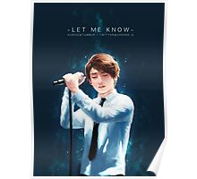 Jungkook - Let Me Know Poster