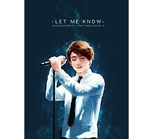 Jungkook - Let Me Know Photographic Print