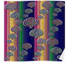 """""""Null Lines Wick Rotation Congruence 2""""© Poster"""