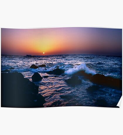 Dakar Sunset Poster