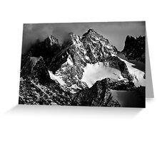 La Roche Méane, la Grande Ruine et le Pic Bourcet Greeting Card