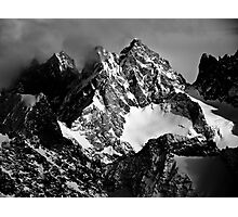 La Roche Méane, la Grande Ruine et le Pic Bourcet Photographic Print