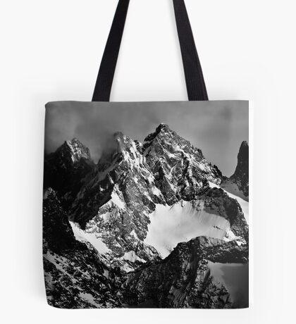 La Roche Méane, la Grande Ruine et le Pic Bourcet Tote Bag