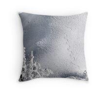 Snowboard Trail Throw Pillow