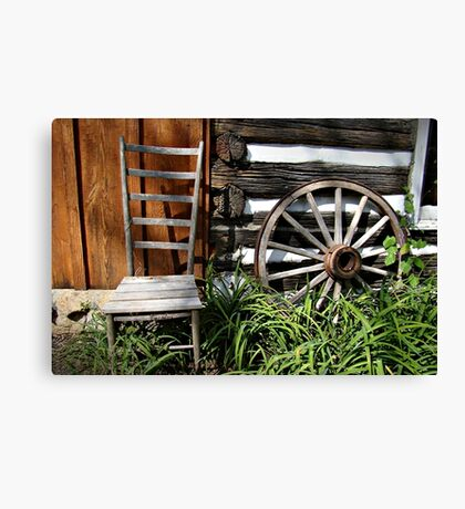 Chilling Spot~ Canvas Print