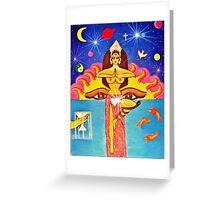 Dharma Greeting Card