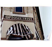 Optometrist Poster