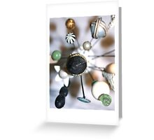 Hatpin collection Greeting Card