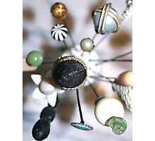 Hatpin collection Photographic Print