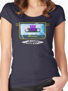 I always wanted to be Soundwave... Women's Fitted Scoop T-Shirt
