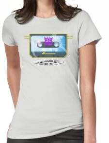 I always wanted to be Soundwave... Womens Fitted T-Shirt