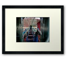 I Shot The Sheriff Between Coaches - Texas & Austin Central RR - 2011 *featured Framed Print