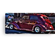 Dick Tracy Car Canvas Print