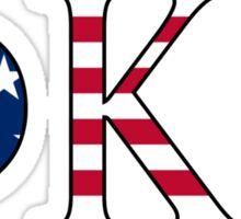 Phi Kappa Tau America Sticker