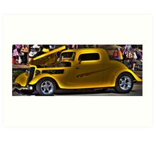 Dick Tracy Car Art Print