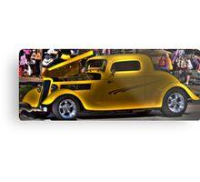 Dick Tracy Car Metal Print