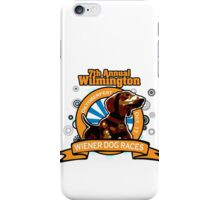 7th Annual Wilmington Wiener Dog Races iPhone Case/Skin