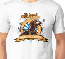 7th Annual Wilmington Wiener Dog Races Unisex T-Shirt