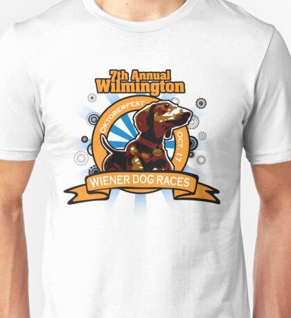 7th Annual Wilmington Wiener Dog Races Unisex T-Shirt