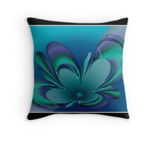 The Blue Bowl Throw Pillow