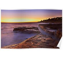 Lurline Bay Sunrise Poster