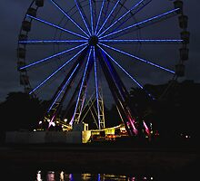 Giant Sky Wheel - Geelong Waterfront by Deb Gibbons