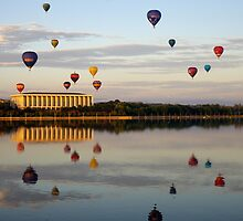 2011 Canberra Balloon Festival #2 by Melanie Roberts