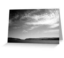 Rubbed Raw Greeting Card