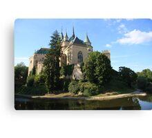 Bojnice Castle Canvas Print