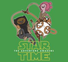 Star Time - The Adventure Awakens Baby Tee