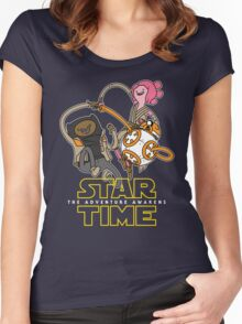 Star Time - The Adventure Awakens Women's Fitted Scoop T-Shirt