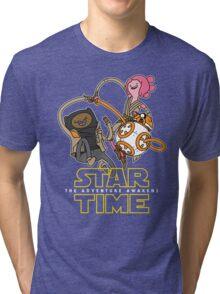 Star Time - The Adventure Awakens Tri-blend T-Shirt