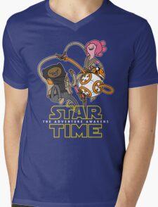 Star Time - The Adventure Awakens Mens V-Neck T-Shirt