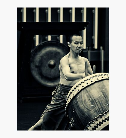 Taiwanese Drum Troupe N.4 Photographic Print