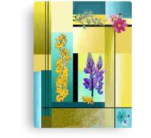 """""""Spring Flowers"""" Metal Print"""
